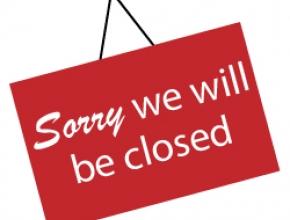 Sobota 18.11.2017 Zavřeno